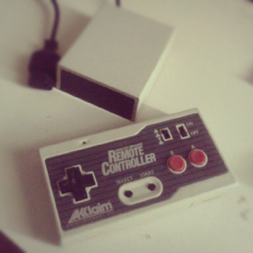 #Acclaim Wireless-Infrared Remote Controller #NES (Tomada con instagram)