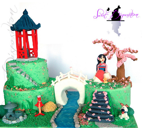 Mulan Cake (by SweetDisposition14)
