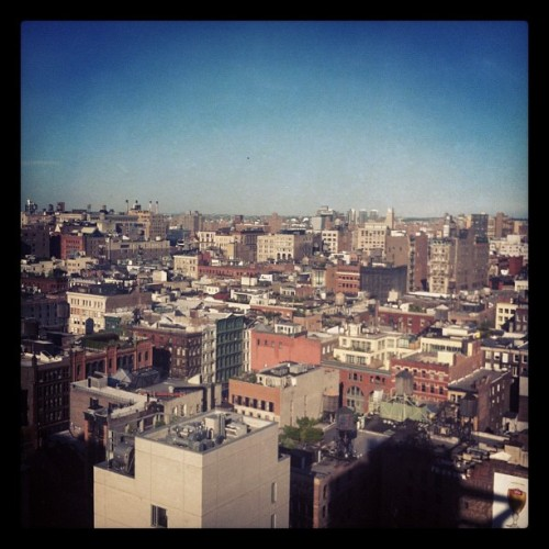 View from the bathroom - really!  (Taken with instagram)