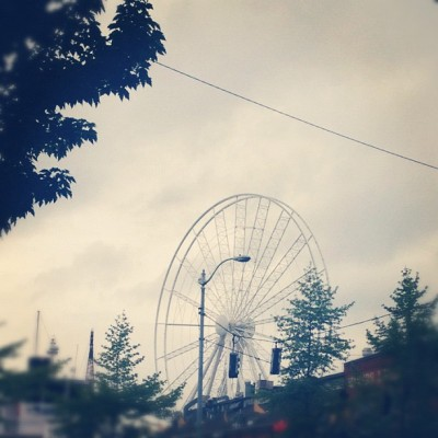 jonmccon:  Super excited for our waterside ferris wheel to open! (Taken with instagram)  Improve that waterfront, y'all. Make the best of the new space we'll have.