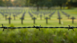 WW II German cemetary in Lommel, Belgium by Johan Verrips on Flickr.