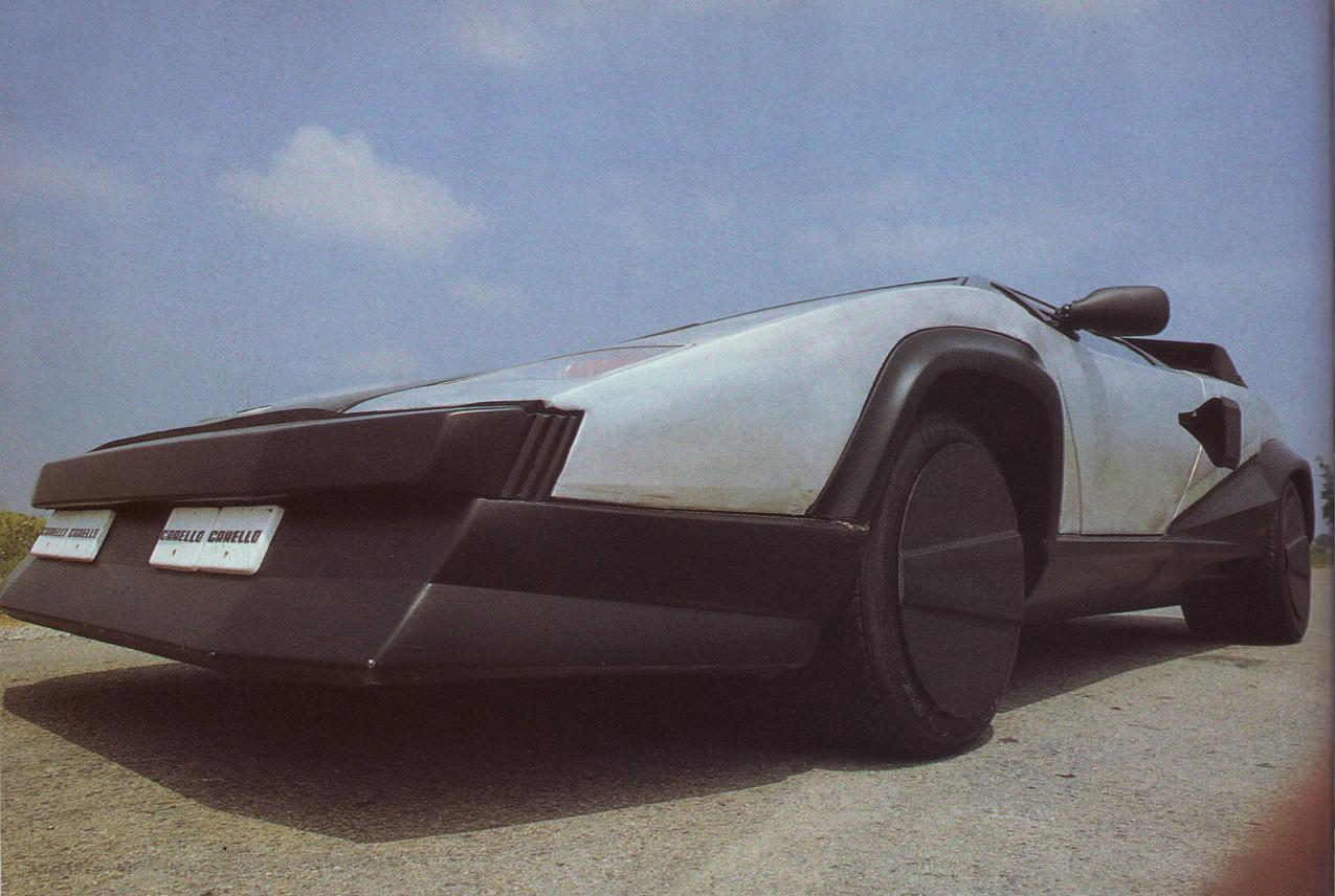 1987 Lamborghini Countach Evoluzione One Ex