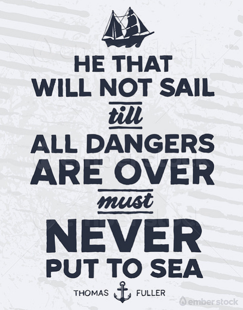 visualgraphic:  Never put to sea