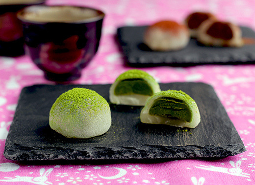 Mochi Pralines by Okashi and Cats on Flickr.