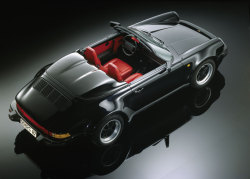 Porsche 911 Speedster, 1989. Photo by Rene Staud.