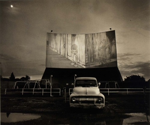 Drive-In Movie: Woodie, 1970s by Steve Fitch
