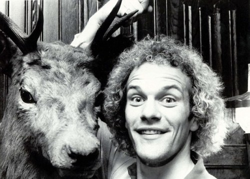 Andy Gray startles another poor deer