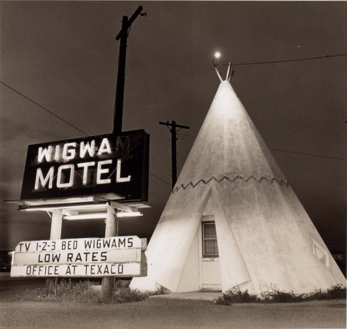 Wigwam Motel, Highway 66, 1973 by Steve Fitch