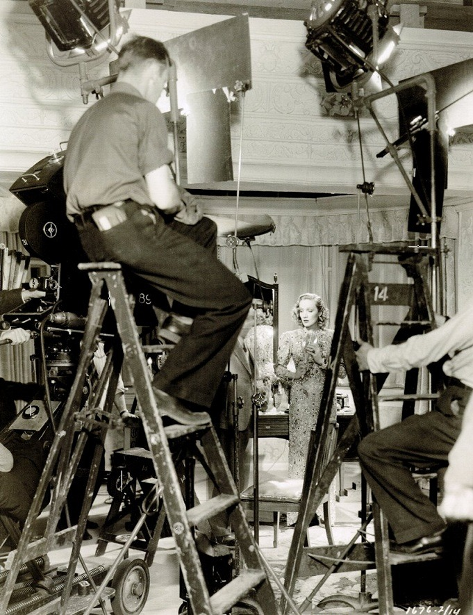 oldhollywood:  Marlene Dietrich on the set of Angel (1937, dir Ernst Lubitsch) (via)