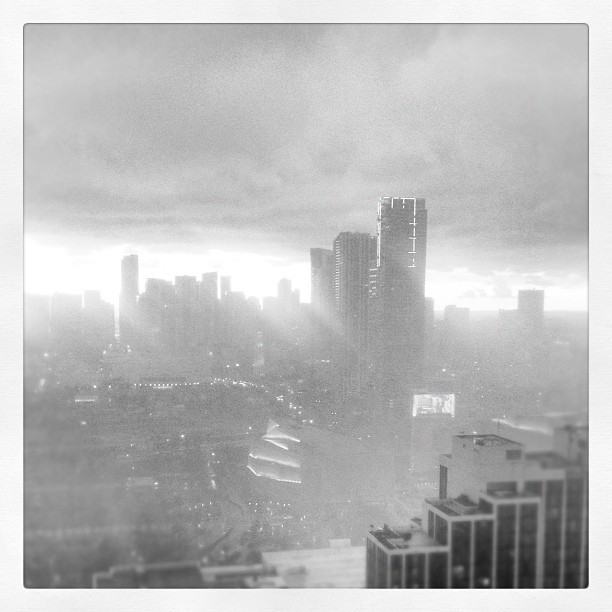 Downtown #Miami still #whitehot even when it rains (Taken with instagram)