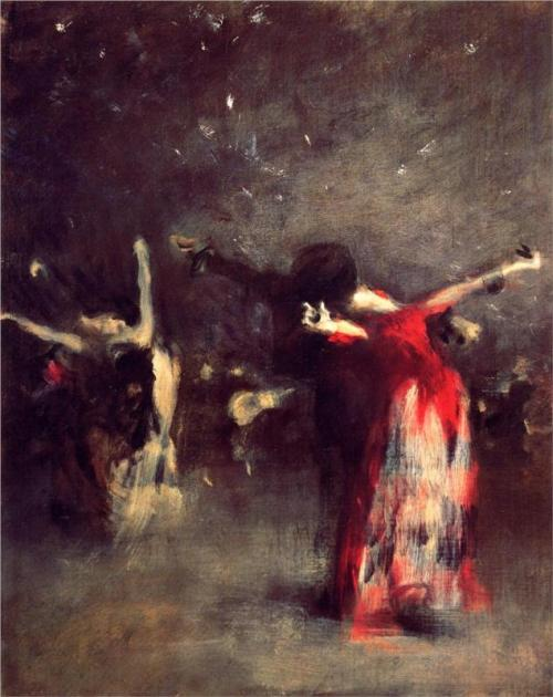 wasbella102:  John Singer Sargent, Study for The Spanish Dancer, c. 1879. a-r-t-history: