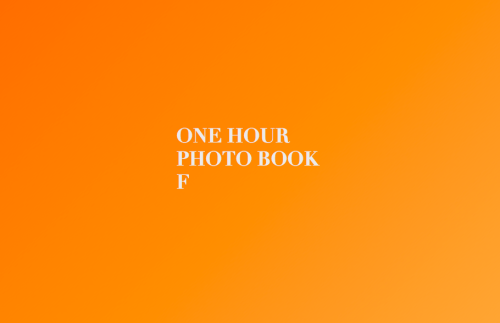 New work. One Hour Photo Book F is available on MagCloud. 36-page landscape digest, 15 photographs. $8 hard copy with free digital edition or $4 for digital alone.
