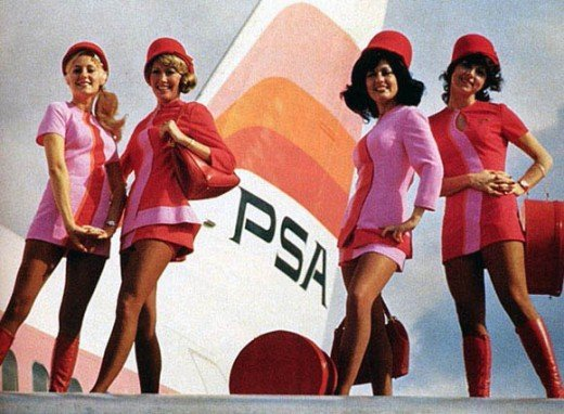 Pacific Southwest Airlines.