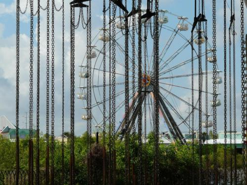"""Abandoned Six Flags in Chains,"" New Orleans"