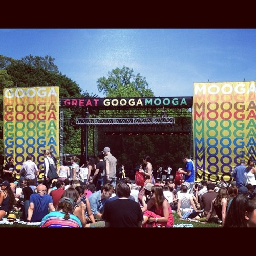 We made it to the Great GoogaMooga (Taken with instagram) —Judith Pena, Assistant to the Editor-in-Chief