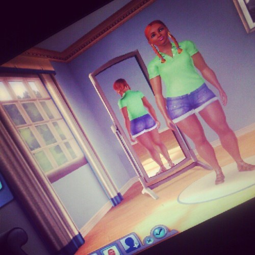 Baby bought me the Sims. ;) (Taken with instagram)
