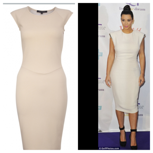 How exciting is this. Went into FCUK and I came across a dress similar to Kim's dress. Yes yes yes not the same but it looks amazing on. We all don't need to be in the same brand as Kim to pull this off. Therefore if you are loving this outfit like I do then why not get yourself to FCUK and treat yourself to one of these…