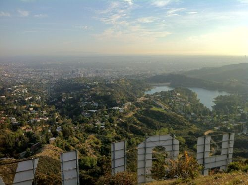 quarterbloom:  Behind the Hollywood Sign photo by Erich Steiner