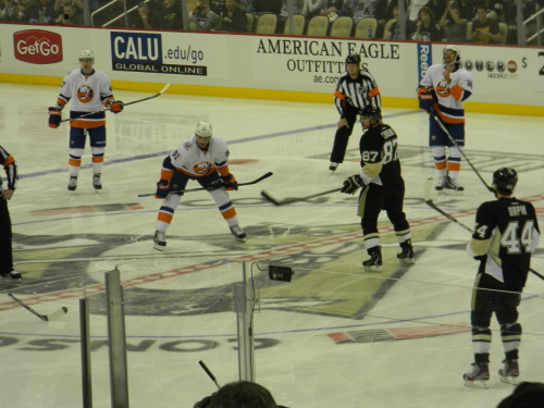 Sid's first game back. 11/21/11