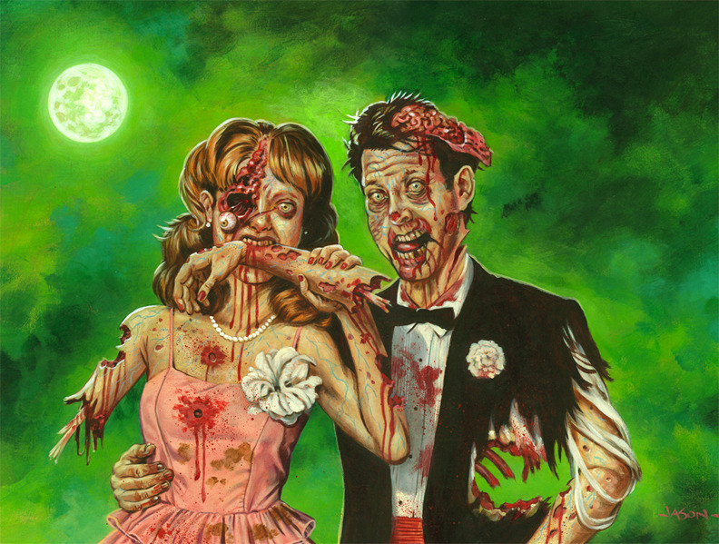 Zombie Prom by *jasonedmiston