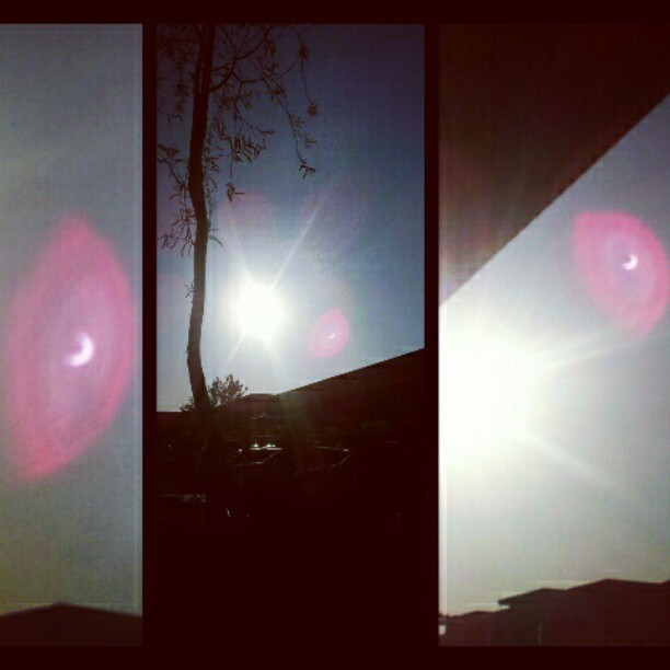 Solar eclipse!!!!!<3 (Taken with instagram)