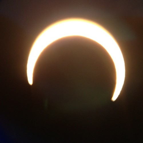 And here we go, now we get to see it in reverse #solareclipse