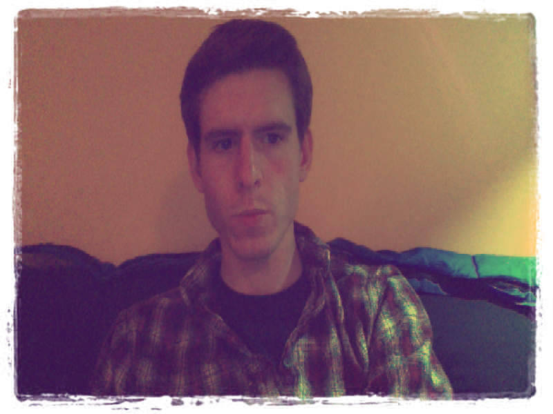 Sunday Night GPOY. Testing out a random Google Chrome webcam app.