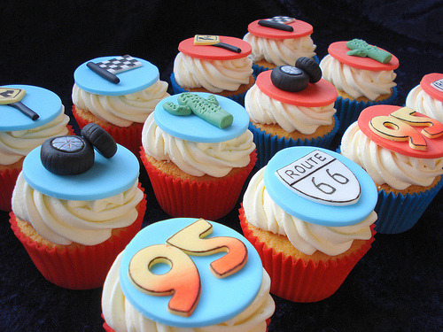 Disney Cars Cupcakes (by Alison's Bakery)