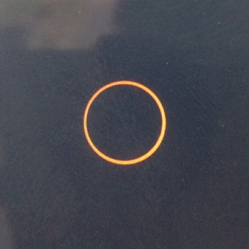 #annular #eclipse as seen from Lassen National Forest (Taken with Instagram at Panoramic Point)