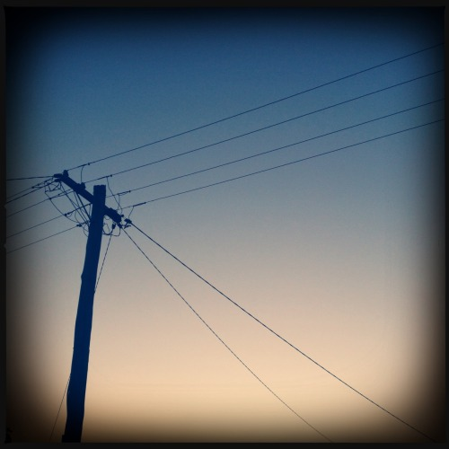 Morning Gradient.  Tejas Lens, DC Film, No Flash, Taken with Hipstamatic
