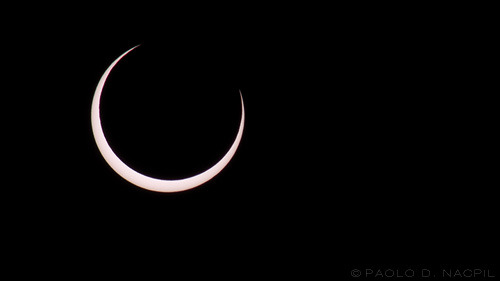 Annular Solar Eclipse92% Coverage in the Sacramento area. Taken on May 20, 2012.Photographed by: http://capturedphotos.tumblr.com/