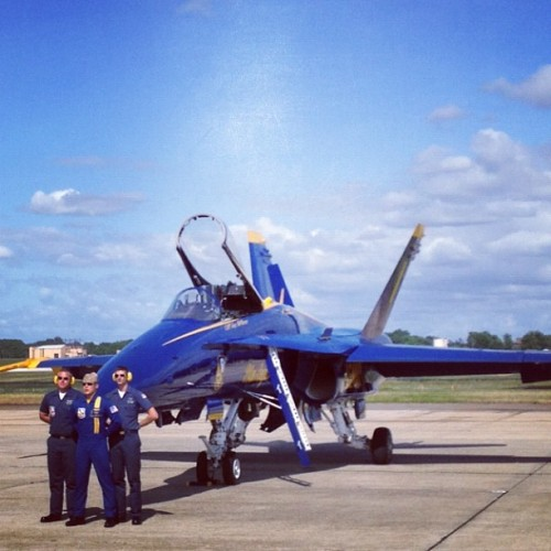 The Blue Angels (Taken with instagram)
