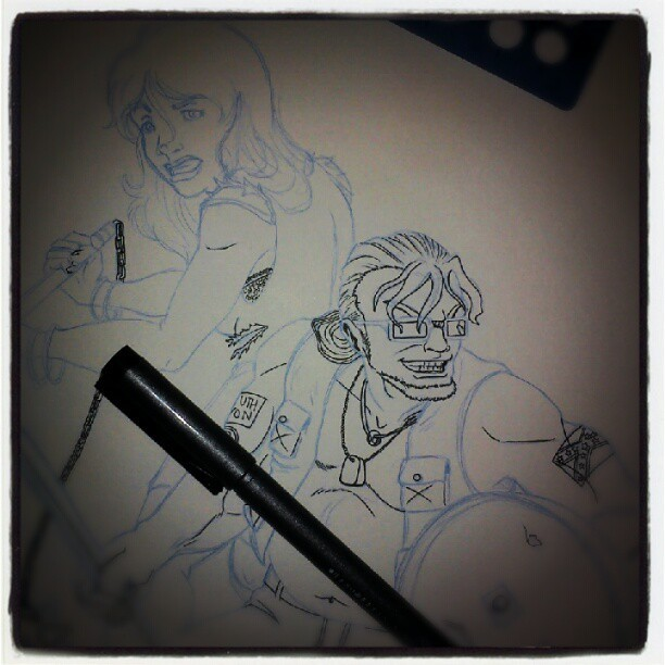 Inkin'! (Taken with instagram)