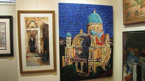 fireintheheart:  Judaism: Then and Now Opening Reception (by Irvin Stafford)