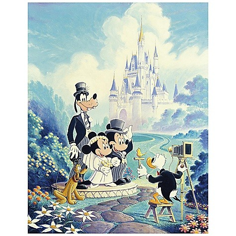 heckyeahdisneymerch:  Mickey and Minnie's wedding!