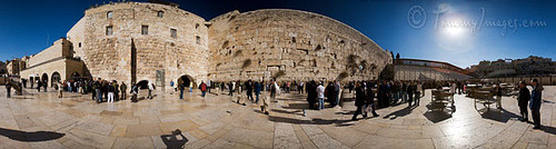 The Wailing Wall by tommyimages_com on Flickr.