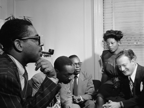 Dizzy Gillespie, Tadd Dameron, Hank Jones, Mary lou Williams &amp Milt Orent