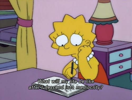 Don't be glum, Lisa! Why not re-read one of your favorite books?