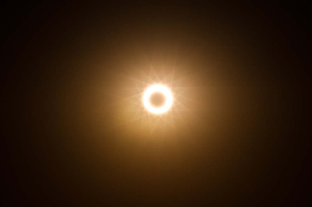 nickgerber:  We saw an eclipse today in Albuquerque. Photo by Tim Jarosz