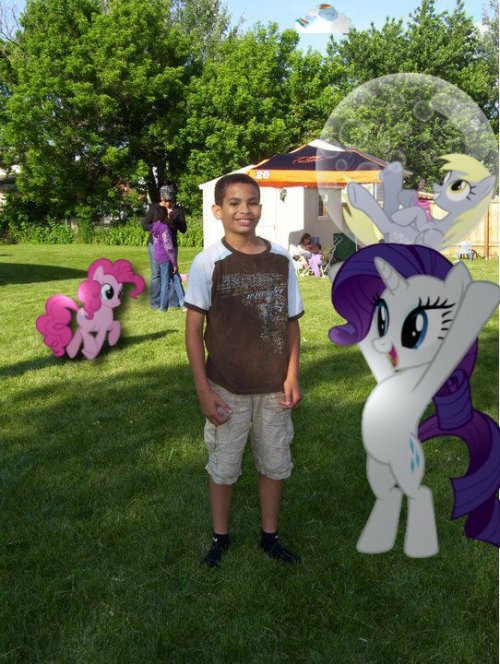 My brother hates MLP. Well, it seems they are gonna love and tolerate the shit out of him.