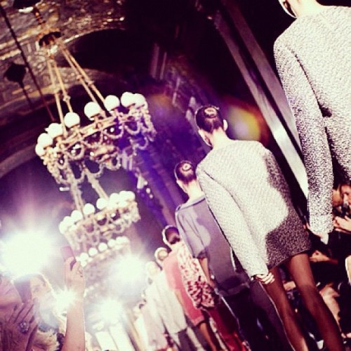#StellaMcCartney #fashion #runway #spring2012 collections! 😘 (Taken with instagram)