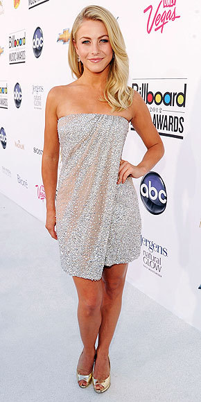 Julianne Hough in Kaufman Franco at the Billboard Music Awards on May 20th, 2012. Nicholas Kirkwood shoes.