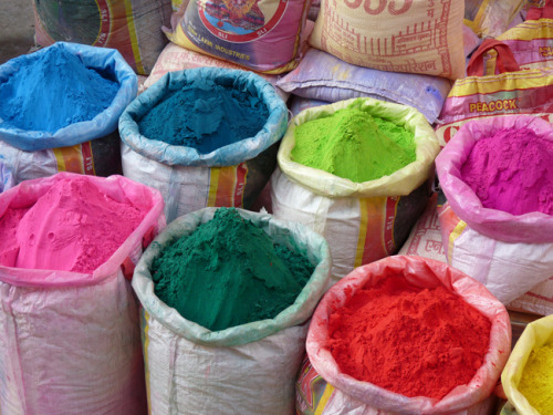 (vía holi {celebration of colour} « plenty of colour)