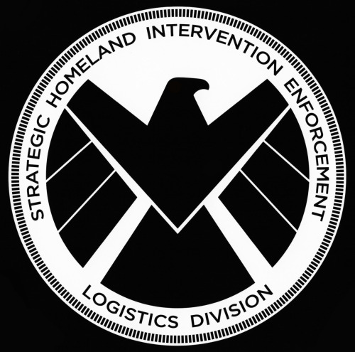 eatingcroutons:  Big S.H.I.E.L.D. logo, just because it's cool.