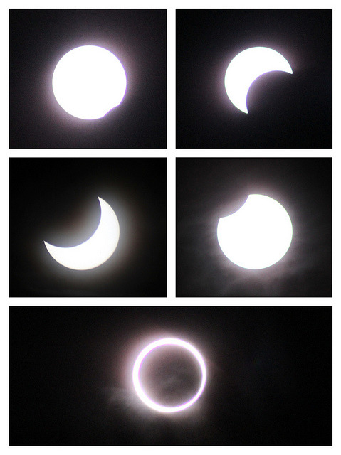 annular solar eclipse 2012 by geena! on Flickr.