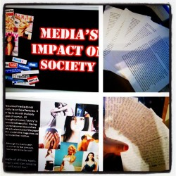 #done. #SeniorProject is done! #media #effects #society #PowerPoint #Essay #notecards #speech #graduation (Taken with instagram)