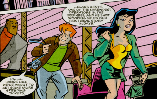 Lois Lane Panel of the Day: Superman Adventures #29