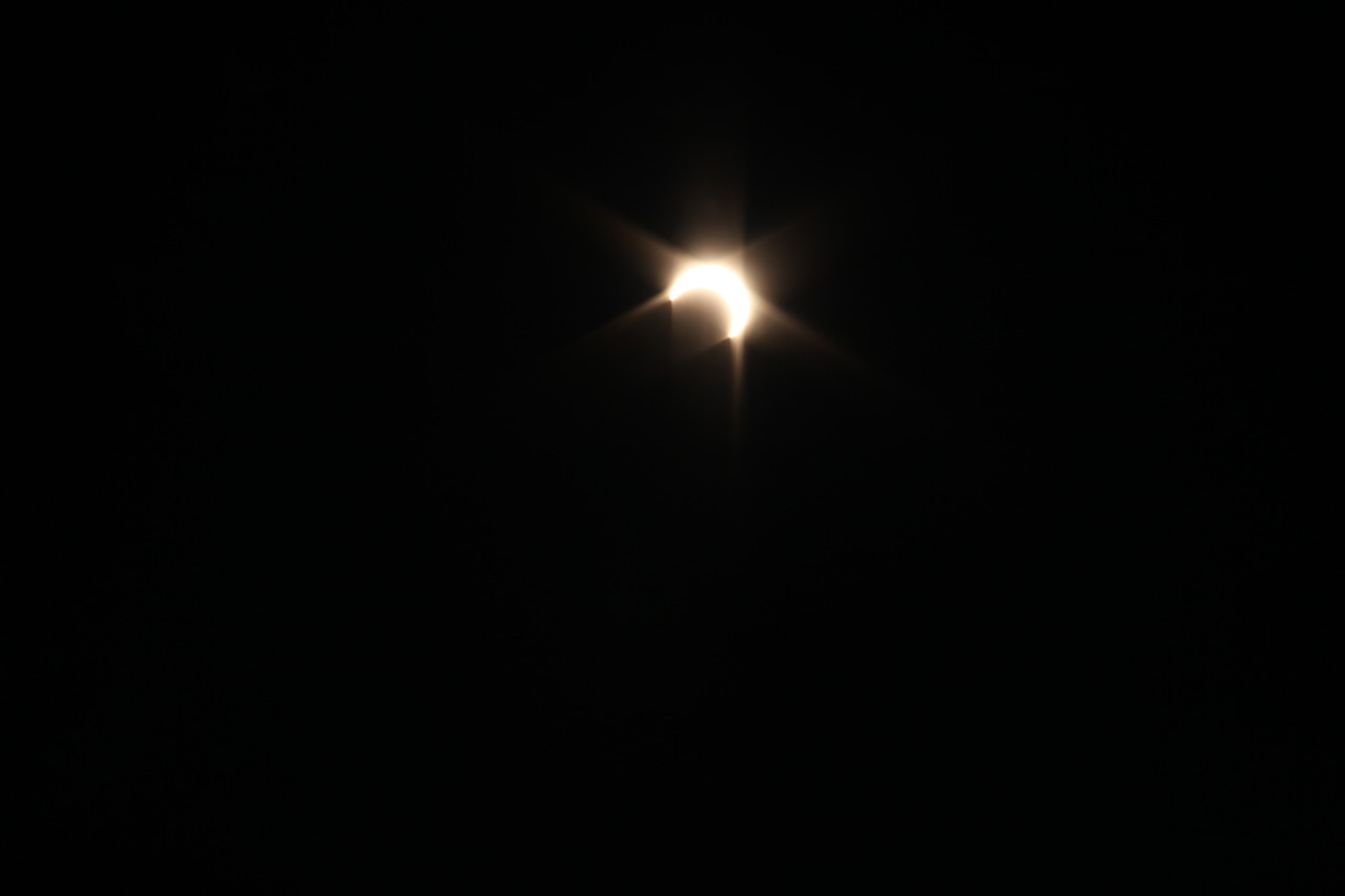 From the Eclipse this morning.