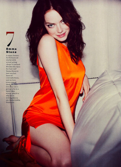 gasstation:  Emma Stone photographed by Guy Aroch