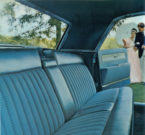 1961 Lincoln Continental 4 Door Sedan Interior  by coconv on Flickr.1961 Lincoln Continental 4 Door Sedan Interior